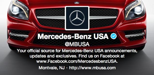 Twitter redesign jetzt profildesign auffrischen bernet for Mercedes benz usa website