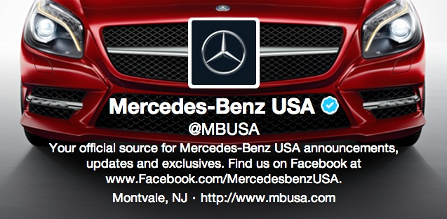 Twitter redesign jetzt profildesign auffrischen bernet for Mercedes benz official site usa